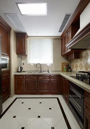 192平米美式风格精致复式楼室内装修效果图案例