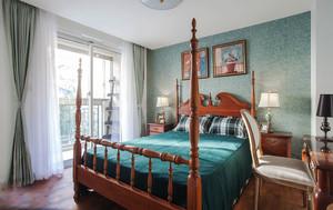 美式风格复古时尚卧室装修效果图鉴赏