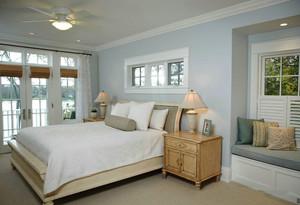欧式风格温馨浅色卧室装修效果图鉴赏