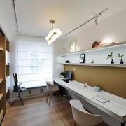 现代风格精致小书房设计装修效果图鉴赏