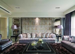 新古典主义风格轻奢时尚大户型室内装修效果图