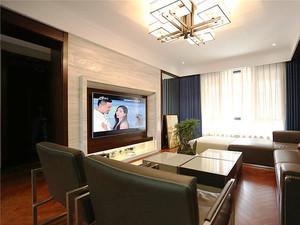 新中式风格精致三室两厅室内装修效果图赏析