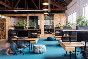 后现代风格时尚创意办公室装修效果图