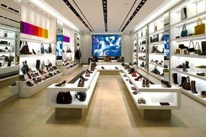67平米现代风格精品鞋店装修效果图
