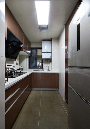 137平米现代风格精装大户型室内装修效果图