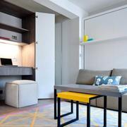 现代风格精致小户型客厅装修效果图赏析