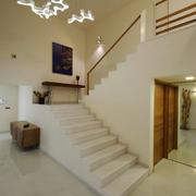 现代风格简约楼梯设计装修效果图赏析
