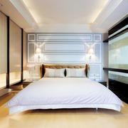 新古典主义风格别墅室内精美卧室背景墙装修效果图