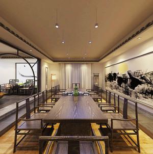 中式风格精致茶楼设计装修效果图赏析