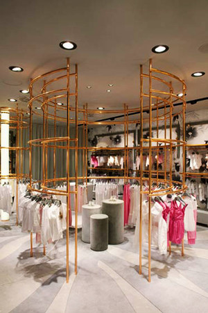 70平米现代风格创意童装店装修效果图