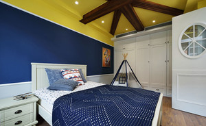 地中海风格时尚卧室装修效果图赏析