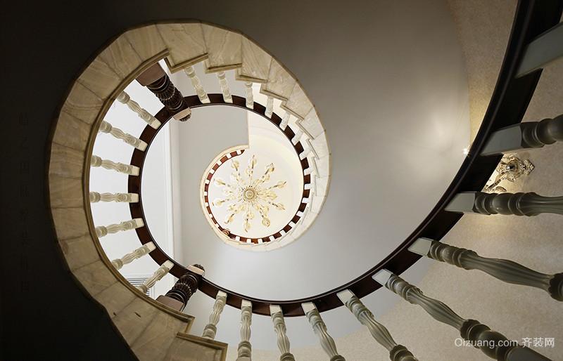 古典欧式风格精致别墅室内装修效果图