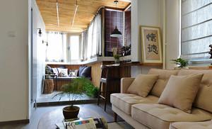 80平米混搭风格精致室内装修效果图赏析