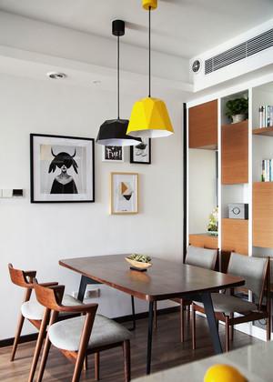 北欧风格简约时尚小户型餐厅装修效果图