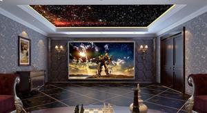 280平米欧式风格典雅别墅室内装修效果图赏析