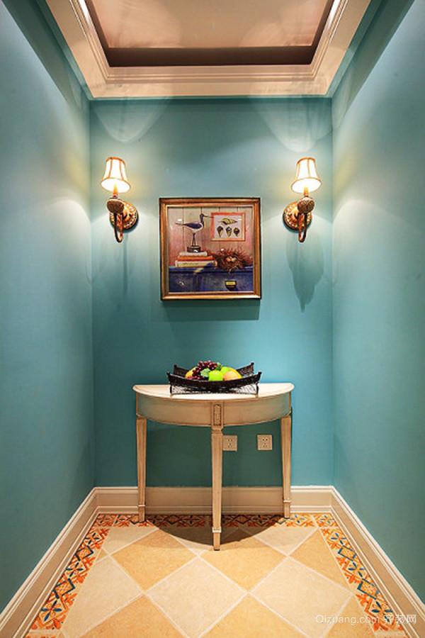 120平米欧式风格精美华丽室内装修效果图案例
