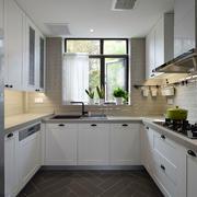 12平米现代风格精致厨房装修效果图