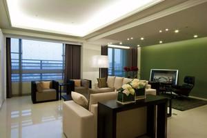 144平米现代风格精装大户型室内装修效果图
