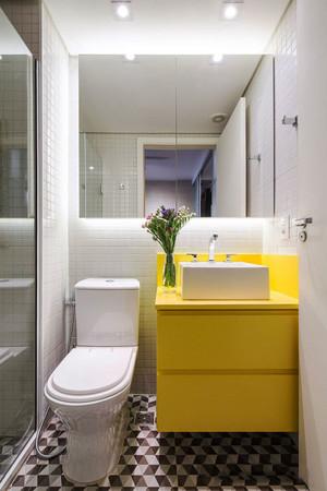 6平米现代风格时尚卫生间装修效果图