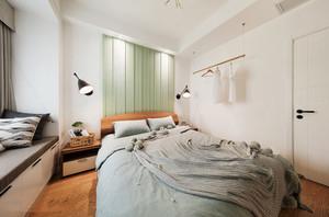 24平米宜家风格简约卧室装修效果图赏析