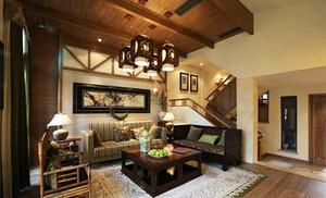 中式风格古典雅韵复式楼室内装修效果图赏析