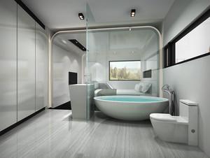 现代简约风格宾馆客房设计装修效果图
