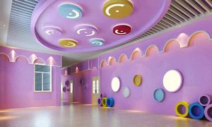 90平米现代简约风格幼儿园教室装修效果图