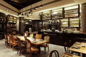 美式风格复古精致酒吧装修效果图