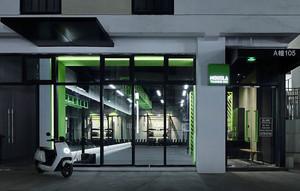 120平米现代风格健身房设计装修效果图