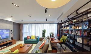 100平米北欧风格时尚室内设计装修效果图赏析