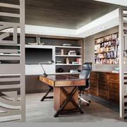 现代风格时尚创意书房设计装修效果图赏析