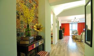 88平米混搭风格精致两室两厅室内装修效果图案例