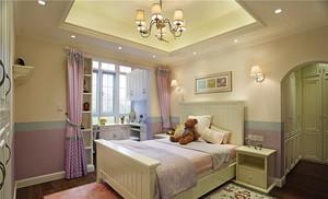 300平米美式风格清新时尚别墅室内装修效果图