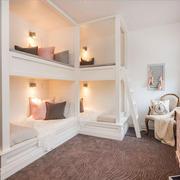欧式风格大户型精美儿童房设计装修效果图