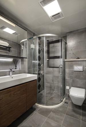 8平米宜家风格简约卫生间淋浴房装修效果图