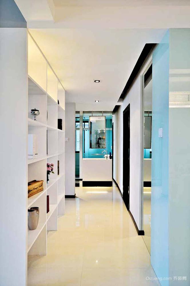 96平米现代简约风格精致两室两厅室内装修效果图