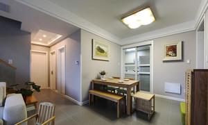 180平米现代风格简约复式楼室内装修效果图
