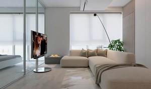 72平米现代风格精装公寓装修效果图赏析