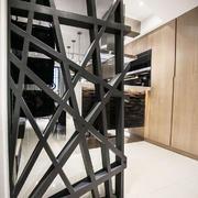 现代风格时尚创意玄关隔断设计装修效果图