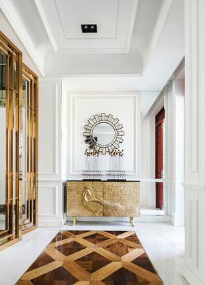 210平米新古典主义风格典雅复式楼室内装修效果图