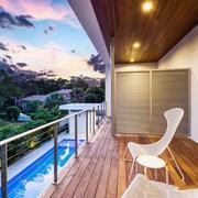 现代风格简约休闲阳台设计装修效果图