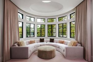 欧式风格别墅室内封闭式阳台装修效果图赏析