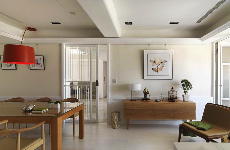 90平米宜家风格简约室内设计装修效果图案例