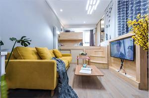 宜家风格清新小户型客厅设计装修效果图赏析