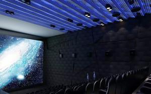 现代风格电影院装修效果图赏析