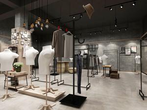 后现代风格创意服装店装修效果图赏析
