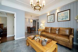 法式风格精美两室两厅室内装修效果图案例