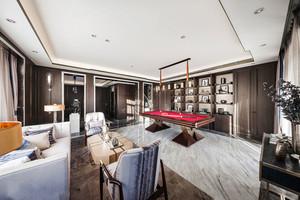 后现代风格别墅室内精致书房设计装修效果图