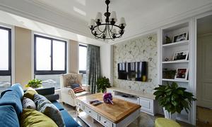 106平米混搭风格精致两室两厅室内装修效果图赏析