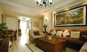 100平米简约美式风格精致室内装修效果图赏析